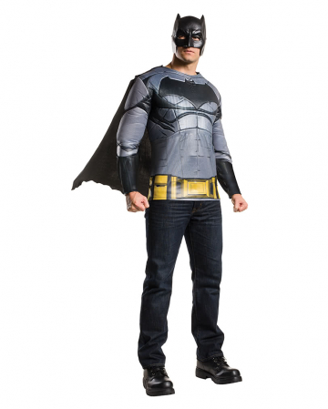 Batman Kostüm-Shirt mit Cape & Maske