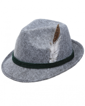 Bavarian Hat With Feather