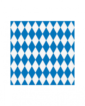 Bavarian Rhombus Napkins 20 Pieces