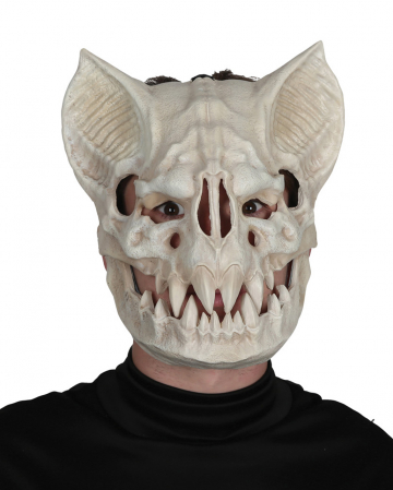 Movable Bat Skull Mask