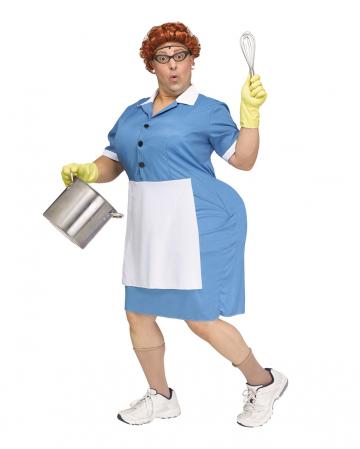 Big Booty Cafeteria Damen Kostüm für Männer