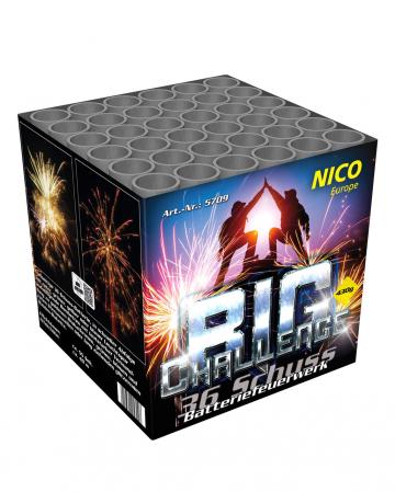 Big Challange  36 Schuss Batteriefeuerwerk