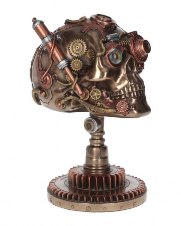 Bionic Ocular Receiver Totenschädel Figur 23cm