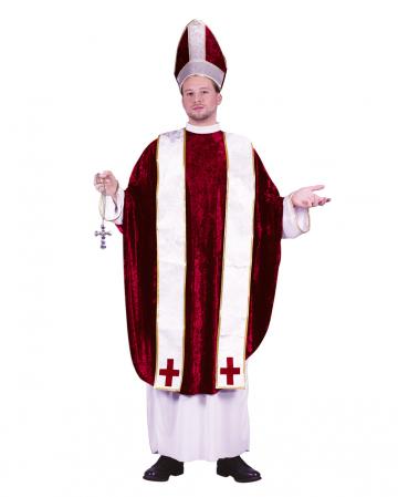 Bishop Costume White-red