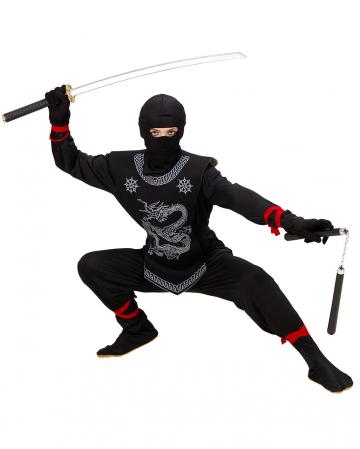 Black Dragon Ninja Child Costume