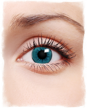 Blue Angel Contact Lenses