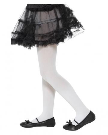 Opaque Children's Pantyhose White