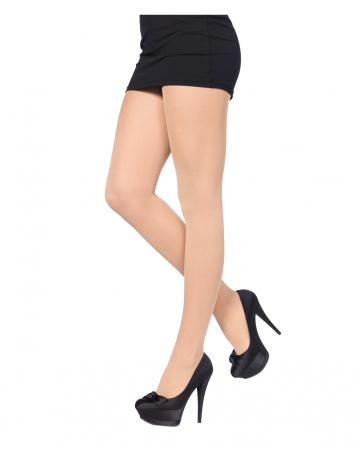 Opaque Nylon Pantyhose Nude