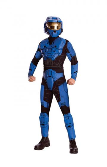 Blue Spartan Deluxe Outift