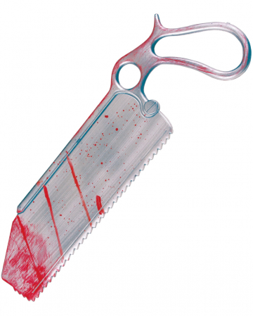 Bloody surgeon saw