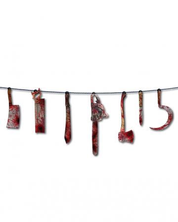 Bloody Butcher Tool Garland