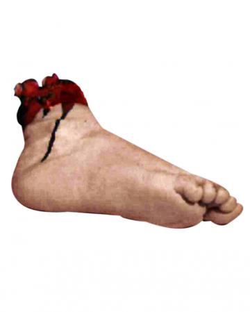 Blutiger Fuß mit Knochenrest Premium