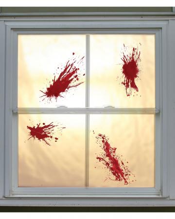 Blood Mucus Splashes 4 Pcs.