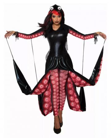 Evil Squid Queen Costume