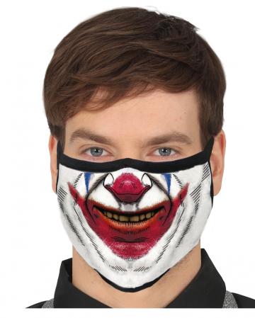 Böser Clown 3-lagige Community Maske