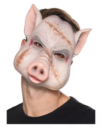 Maske böses Schwein