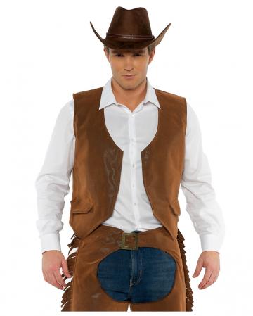 Brown Cowboy Vest