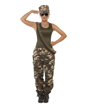 Army Camo Damenkostüm