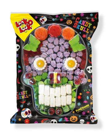 Candy Skull Fruit Gum