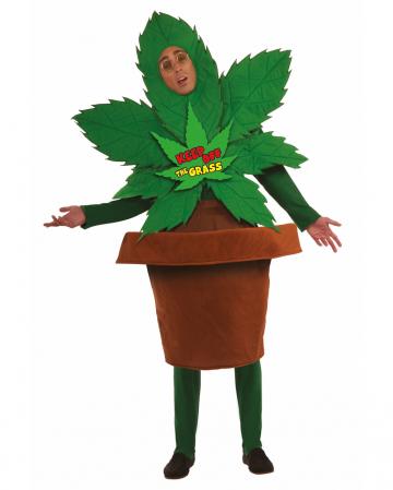 Cannabis Flowerpot Costume