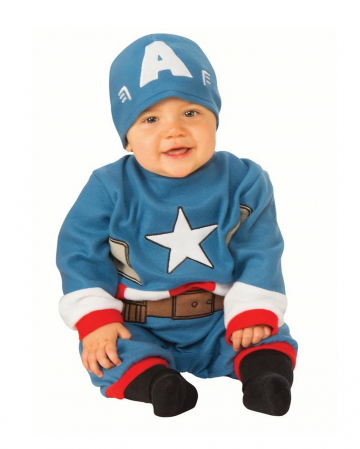 Captain America Baby Costume