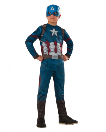 Captain America Civil War Child Costume