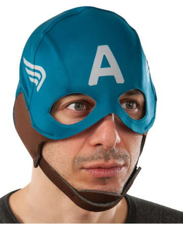 Retro Stoffmaske Captain America