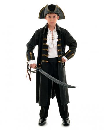 Captain Black Pirates Child Costume