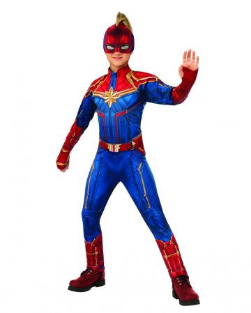 Marvel - Captain Marvel Kinder Jumpsuit Kostüm