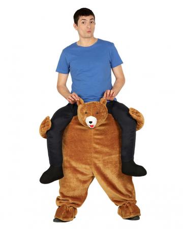Carry Me Kostüm Plüsch Bär