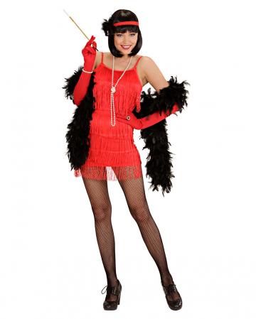 Charleston Dress Red L