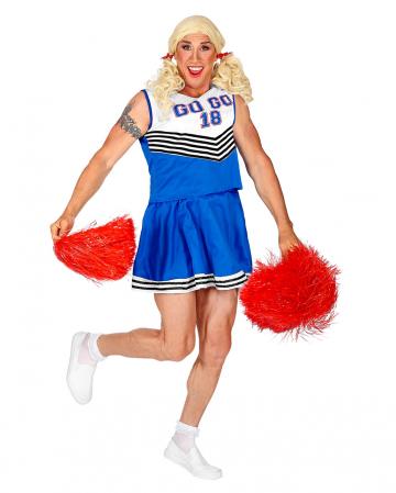 Cheerleader Männer Kostüm