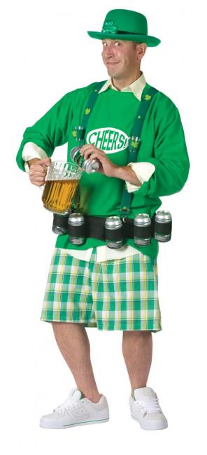 St. Patricks Day Bier Kostüm