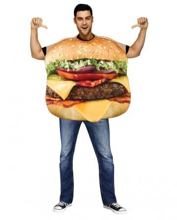 Cheeseburger Costume Deluxe
