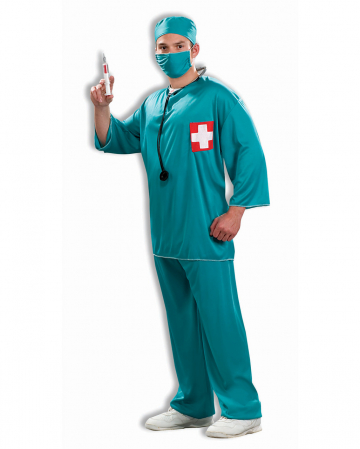 Surgeons Costume 4 Pcs.