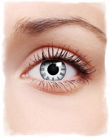 Tick Tock Clock Contact Lenses