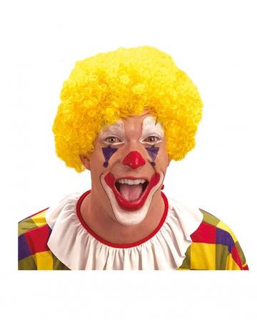 Clowns wig yellow