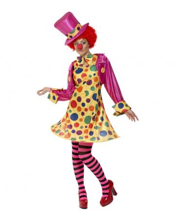 Clownfrau Zirkuskostüm