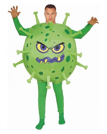 Covid Virus Kostüm Aufblasbar