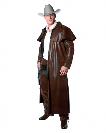 Cowboy Costume Coat brown