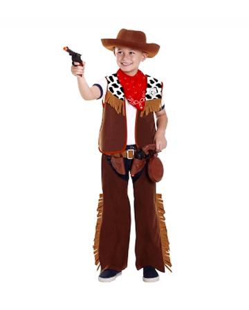 Junger Cowboy Verkleidung