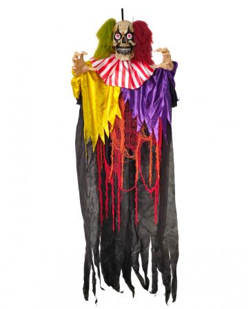 Crazy Zirkusclown mit Schütteleffekt, Licht & Sound