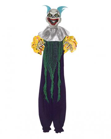 Crazy Clown Dekoration Lila