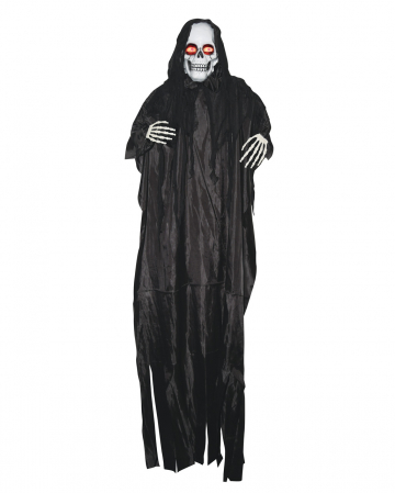 Creepy Reaper Hanging Figure With Moving Eyes