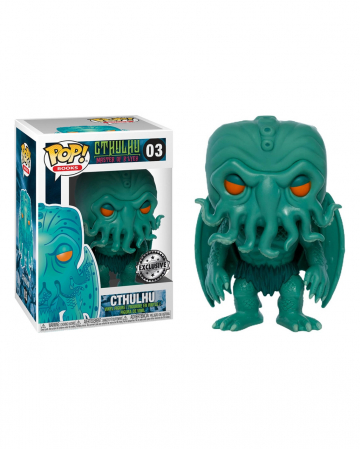 Cthulhu Neon Green EXCLUSIVE Funko POP! Figure