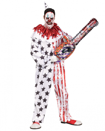 Cutter Horror Clown Halloween Costume