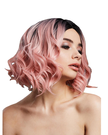 Ladies Wig Kourtney Baby Pink Blend