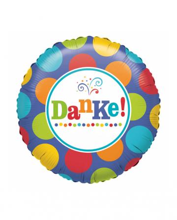 Folienballon Danke