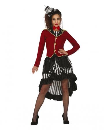 Dark Circus Ringmaster Ladies Costume