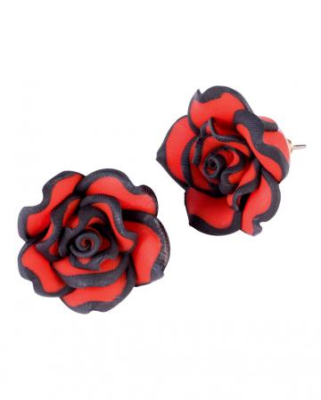 Tag der Toten Rosen Ohrringe